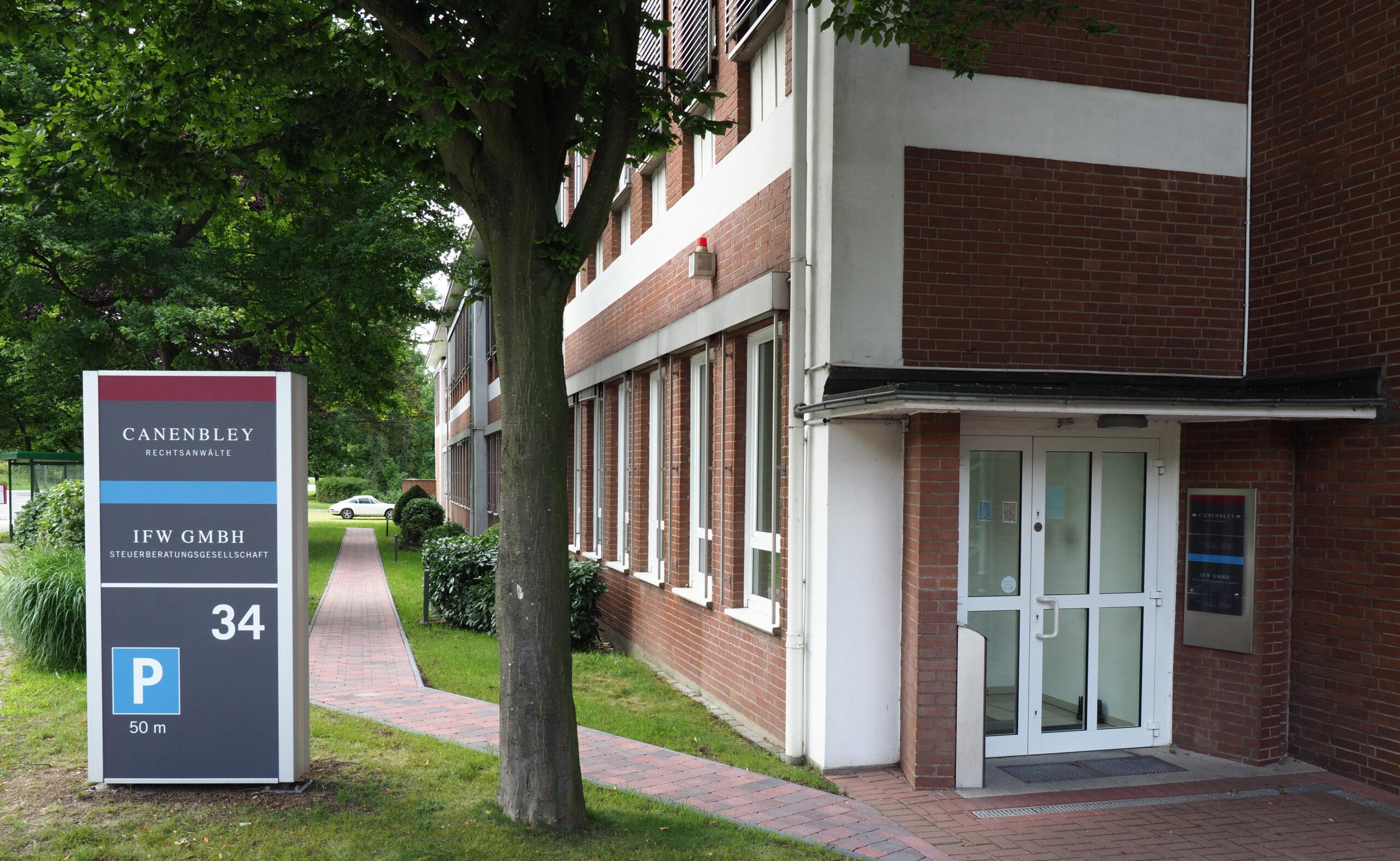 IFW GmbH Eingangsbereich Georgsmarienhütte